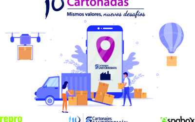 Cartonajes Santorromán celebra sus décimas Cartonadas bajo el leitmotiv de la importancia del cliente