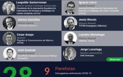 Cartonajes Santorromán participa en una conferencia hispanoamericana de corrugadores con más de 400 asistentes conectados