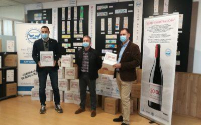 """Cartonajes Santorromán apoya al vino """"20.00 es nuestra hora"""" en una donación al Banco de Alimentos"""